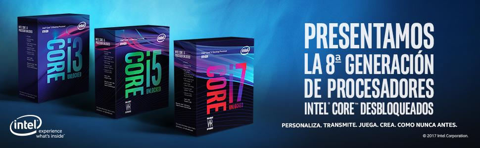 8ª generación de procesadores Intel